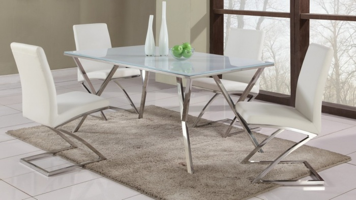 Dining room tables glass top rectangular
